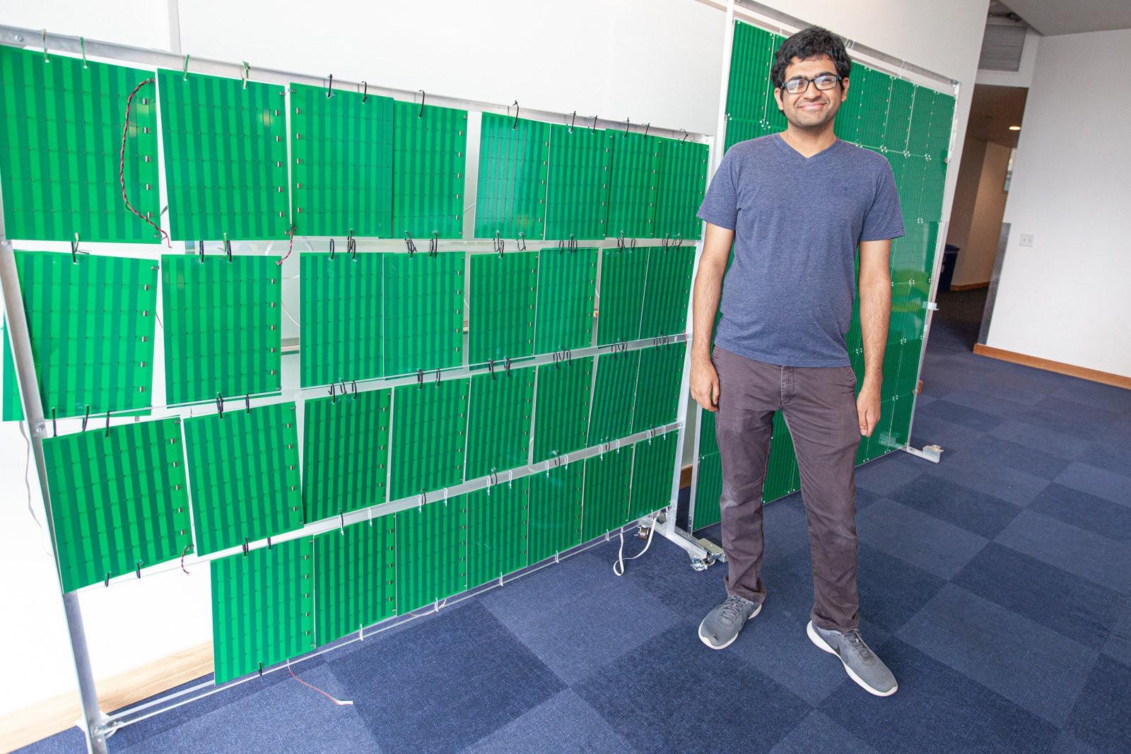 ابتكار ورق جدران يقوي اشارة الإنترنت
