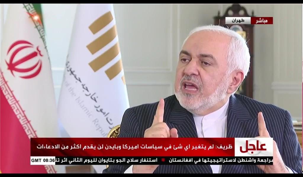 وزير الخارجية الإيراني محمد جواد ظريف/إضاءات