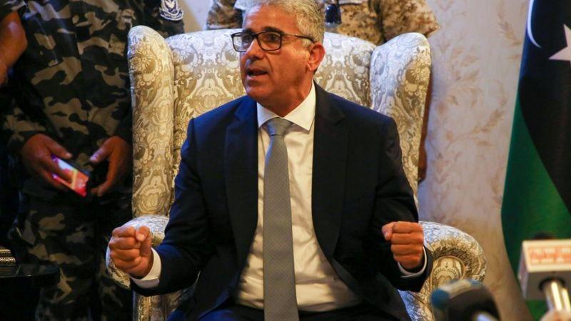 وزير داخلية ليبيا