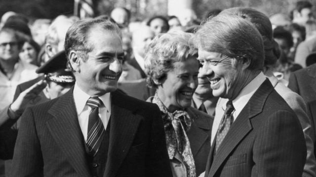 واشنطن وإيران في عهد الشاه