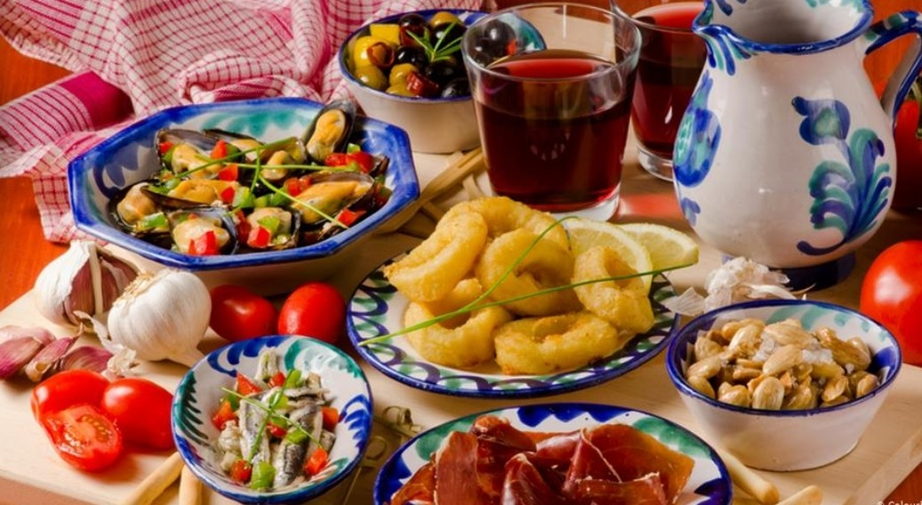 مطبخ بلاد البحر الأبيض المتوسط والسعادة