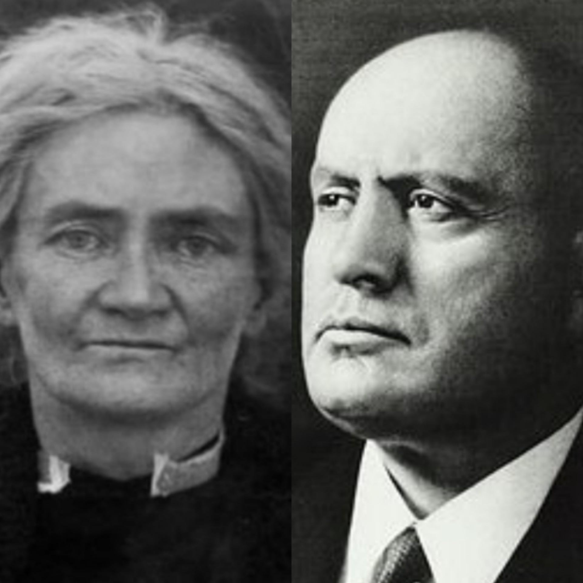 فيوليت غيبسون  وموسوليني