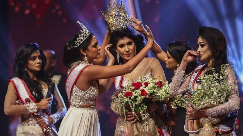 مسابقة ملكة جمال المتزوجات في سريلانكا