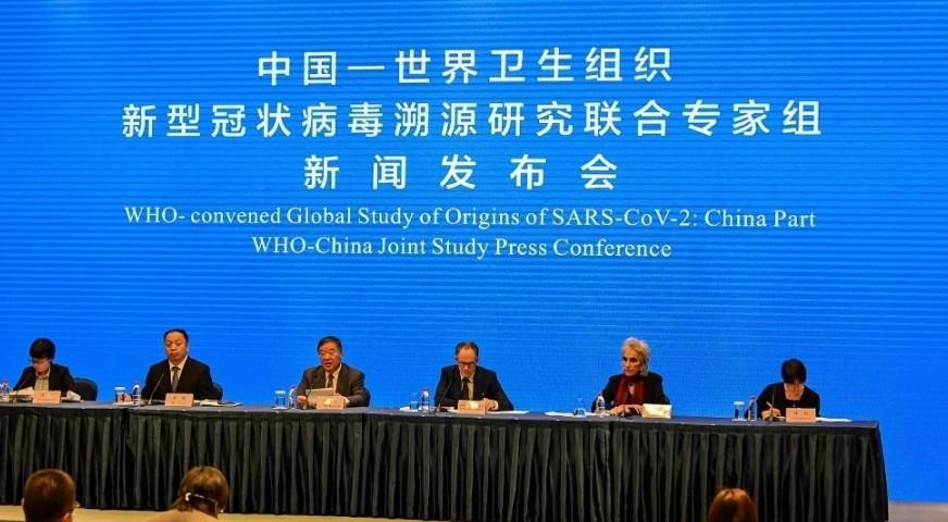 إضاءات أكمل خبراء منظمة الصحة العالمية والصين أعمالهم في ووهان يوم الـ9 من فبراير،