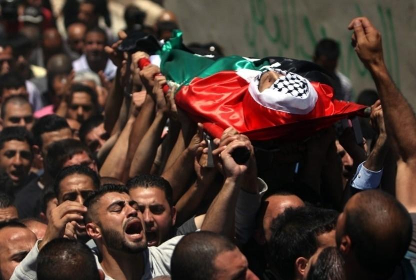إستشهاد ثلاثة شبان فلسطينيين في جنين