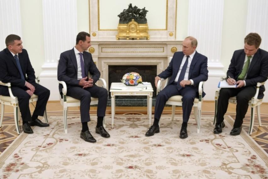 القمة السورية الروسية في موسكو